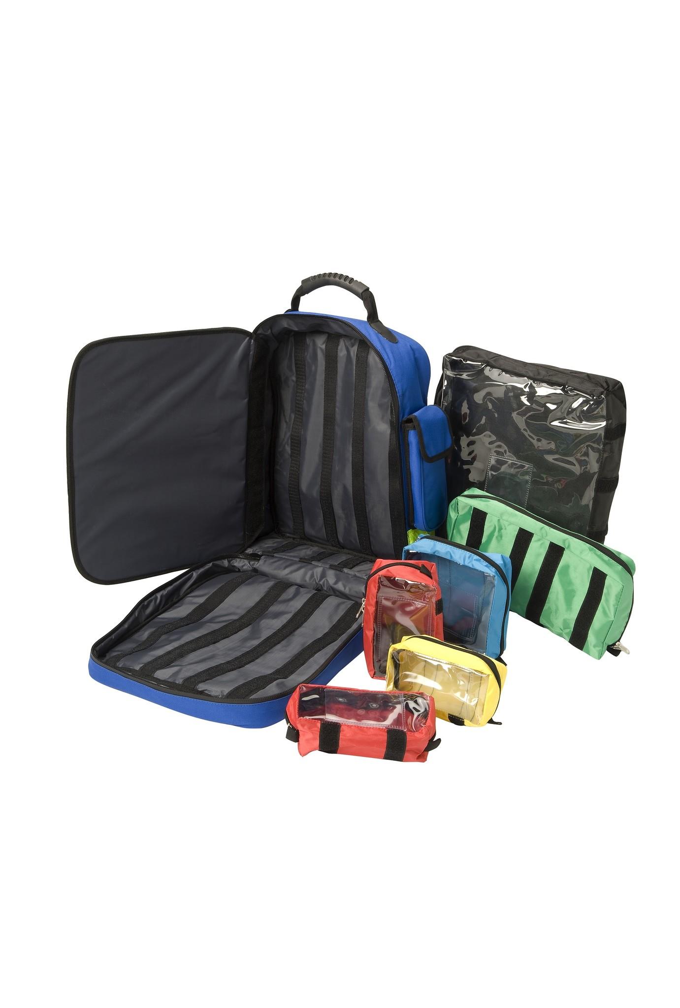HEKA Erste Hilfe Rucksack blau - ohne Füllung