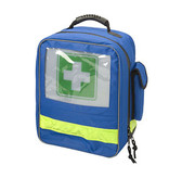 van Heek HEKA first-aid backpack blue - no content