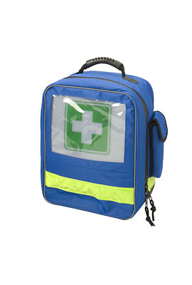 HEKA first-aid backpack blue - no content