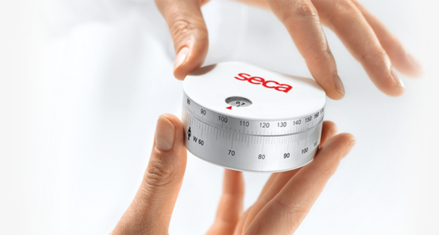Seca 203 Measuring tape for measuring the size of the head, hips, arms, legs and waist