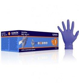 Klinion Klinion Nitril Sensitive Handschuhe - lila - S 6/7 - 150 Stück