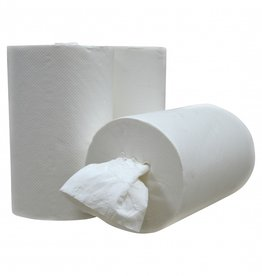 Medische Vakhandel Mini Coreless Centerfeed cellulose towel roll 1 lgs cleaning roll - ECO