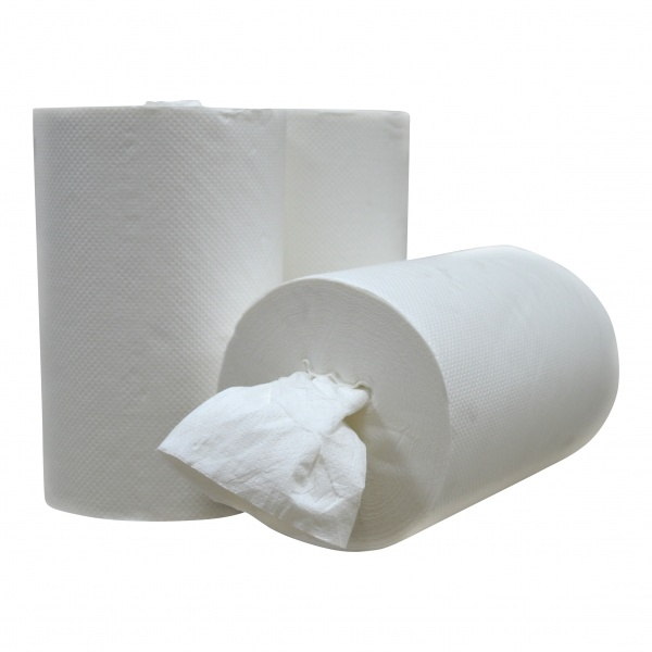 Medische Vakhandel Handdoekrol Mini Coreless Centerfeed cellulose 1 lgs poetsrol - EU Ecolabel