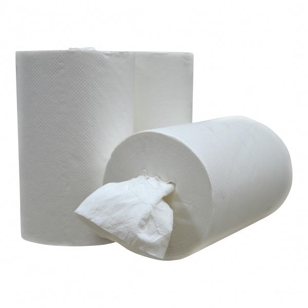 Mini Coreless Centerfeed Papierrolle Zellstoff - 1-lagig- EU Ecolabel
