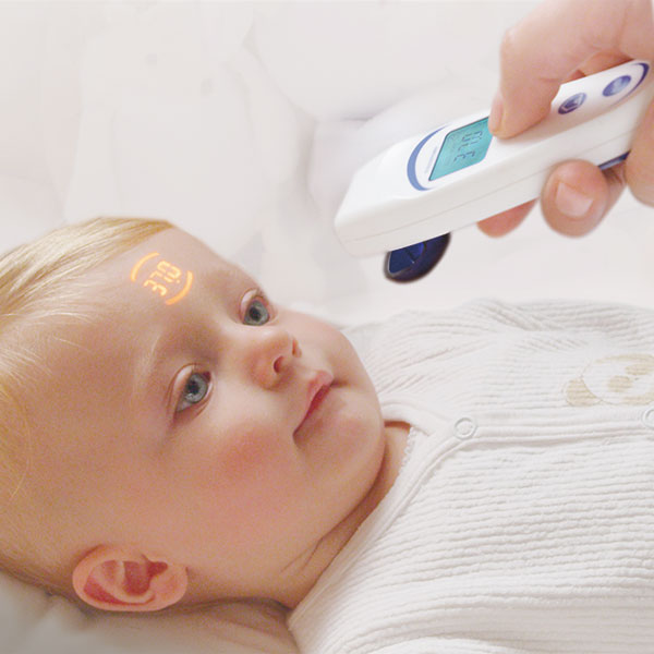 VisioFocus forehead thermometer