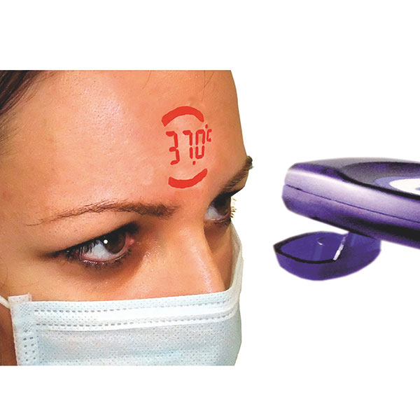 VisioFocus PRO forehead thermometer for the professional