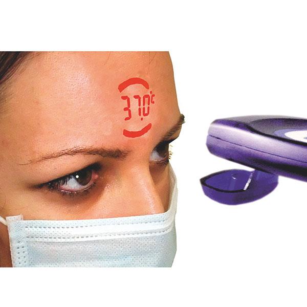 VisioFocus PRO voorhoofdthermometer voor de professional