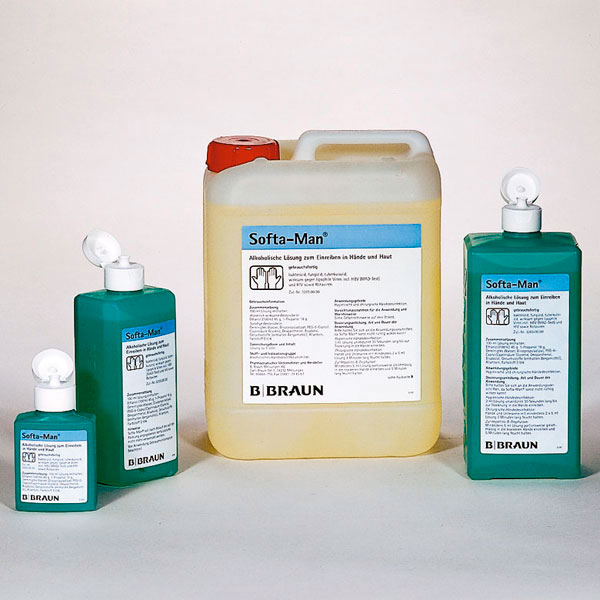 Braun Softa-Man - Händedesinfektion für empfindliche Haut