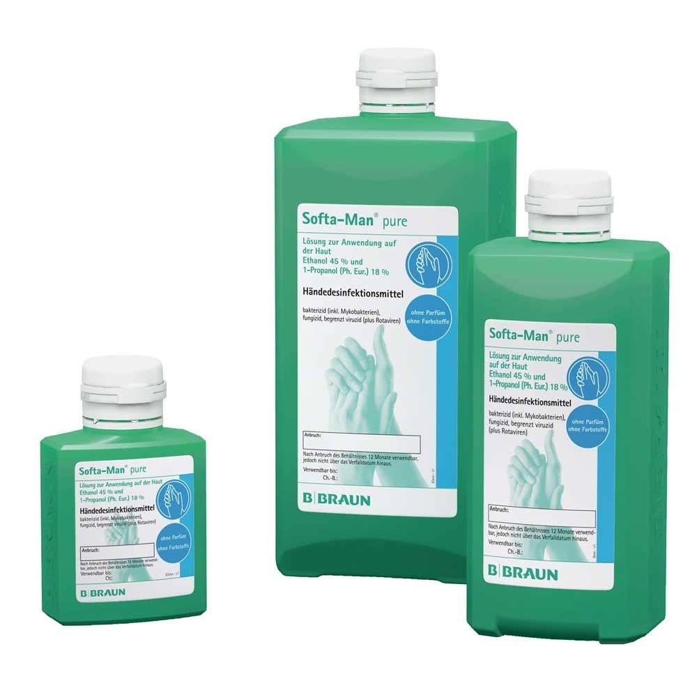 Softa-Man - Handdesinfectie voor de gevoelige huid