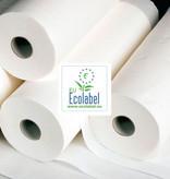 Medische Vakhandel Onderzoekbankpapier 50 cm x 80 mtr - 100% hoogwit cellulose  EU Ecolabel certificaat