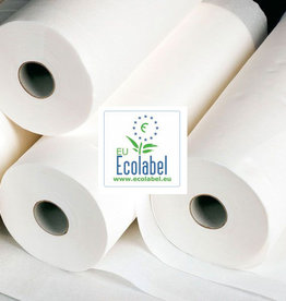 Medische Vakhandel Couch rolls bench paper 80 cm x 150 m 100% High white Cellulose EU Ecolabel certificate