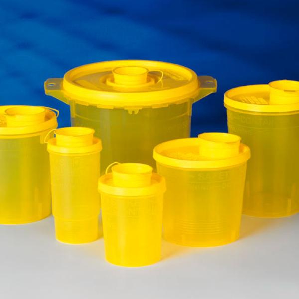 Servobox sharps container - 1700 ml - 100 pieces