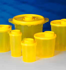 Servoprax Servobox naaldencontainer - 2000 ml - 100 stuks
