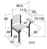 Medische Vakhandel Perfecta - Blood collection chair, puncture chair, Phlebotomy chair