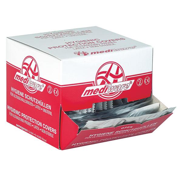Ultraschall-Schutzhüllen mit Gleitmittel, 32 mm