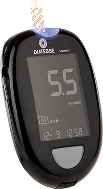 Diatesse XPER Starter Package - Glucose Meter & Ketone Meter