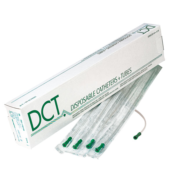 DCT Tiemann catheter - selection of 7 sizes - 50 pieces