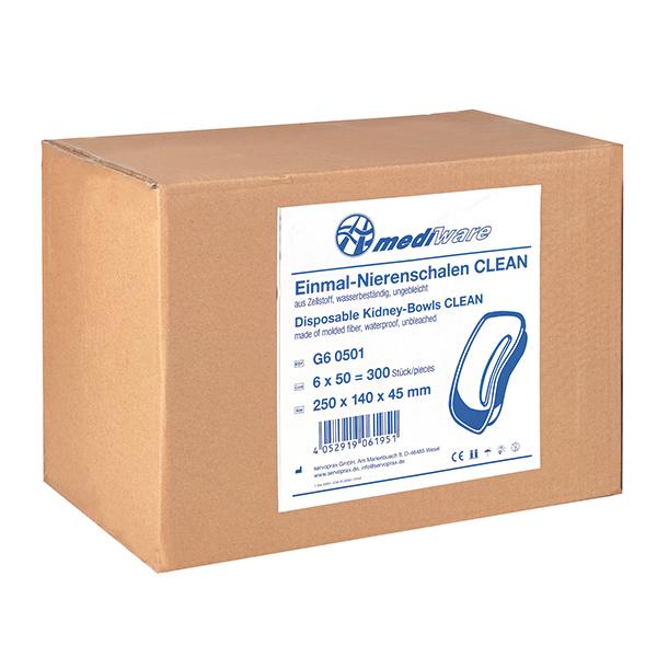 Mediware Einmal-Nierenschalen Clean - 300 Stück