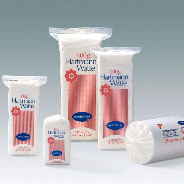 Watte Hartmann - 50 Gramm