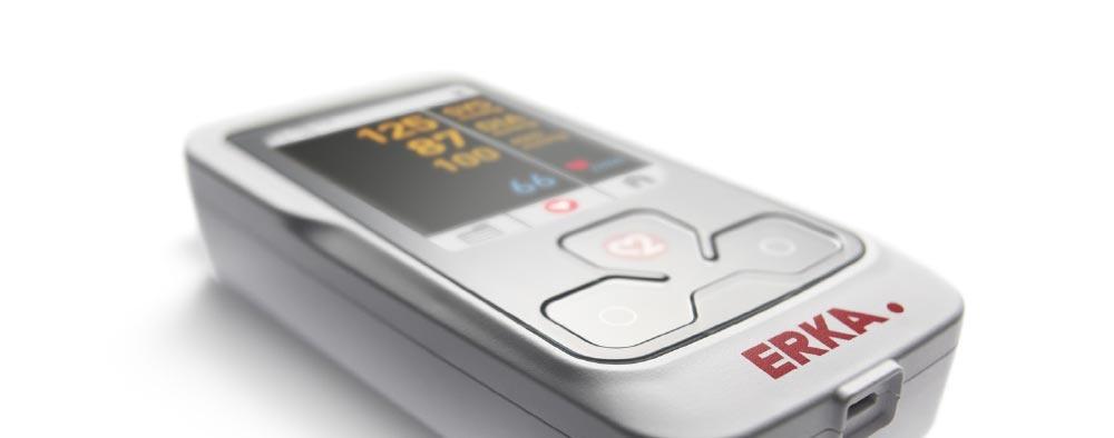 Erkameter 125 Electronische bloeddrukmeter 30 minuten BPM