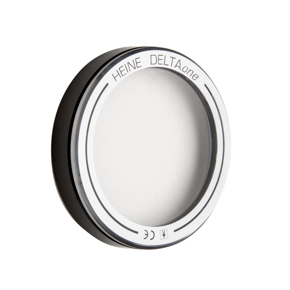 Heine contactglas met schaal voor DELTAone dermatoscoop