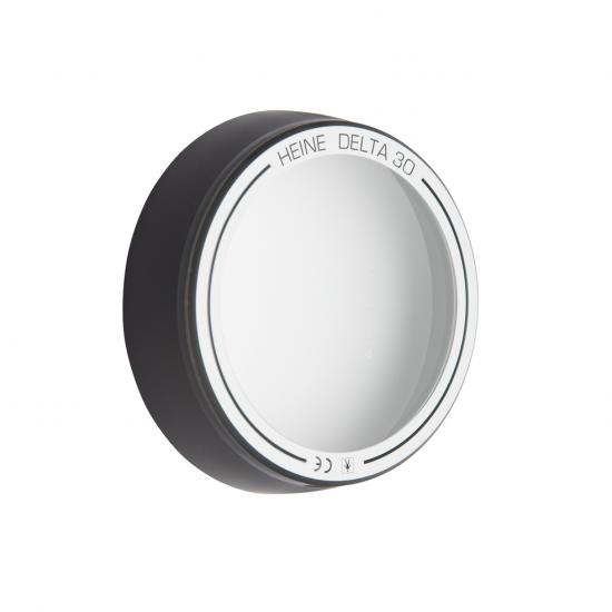 Heine contactglas met schaal voor DELTA 30 dermatoscoop