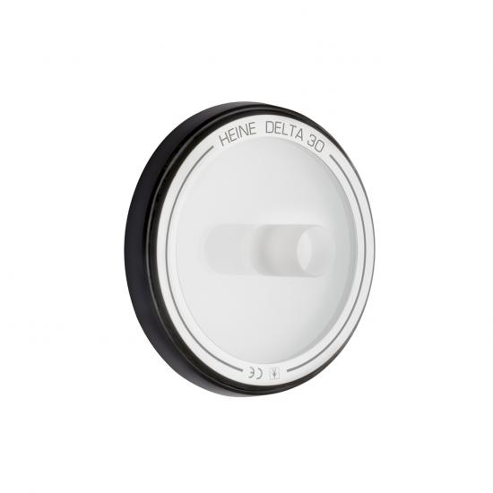 Contactglas small voor DELTA 30 dermatoscoop