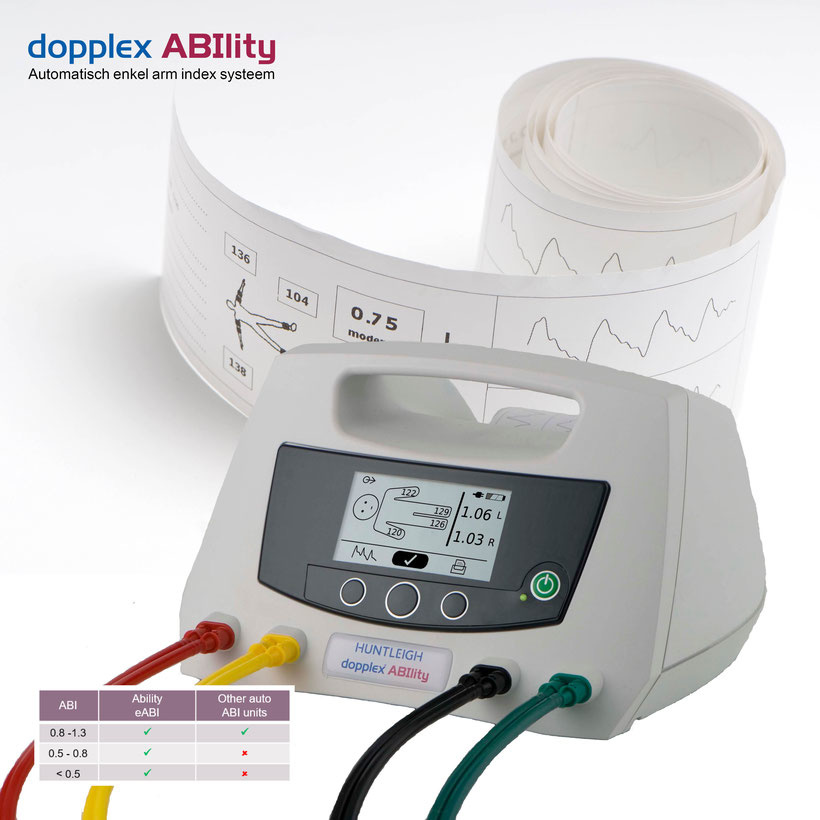Huntleigh Ability - automatic ankle-brachial index meter