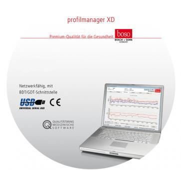Boso profil-manager XD software