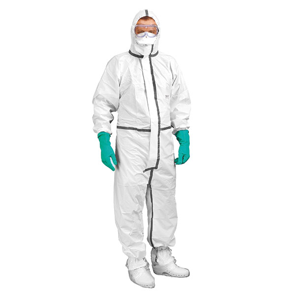 Healthgard complete package insulation category III, jacket, mouth cap, glove, overshoes