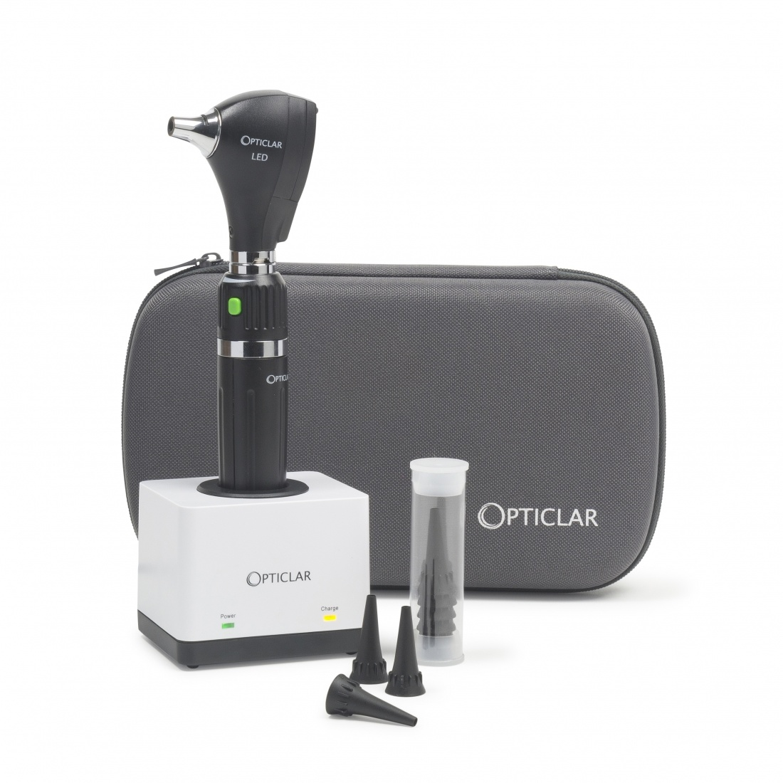 S1 LED Practice Otoscope Set - E Lithium rechargeable desk system