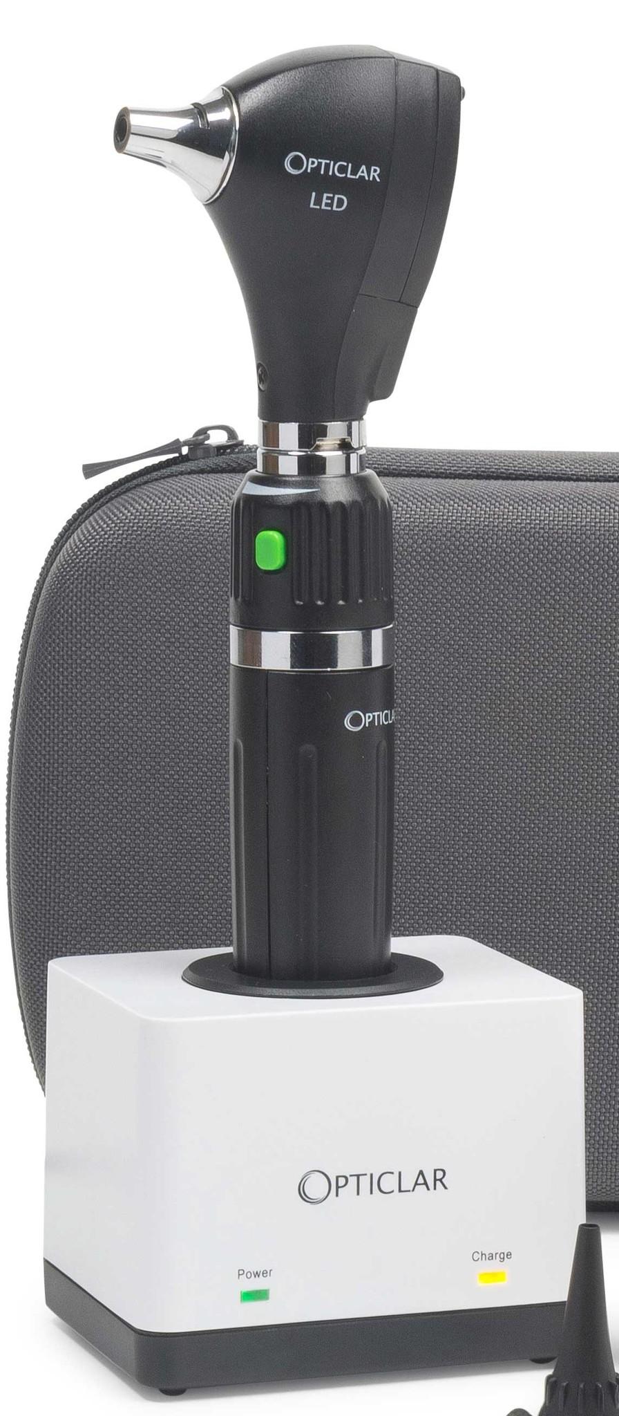S1 LED Practice - otoscoopset - E Lithium oplaadbaar bureausysteem