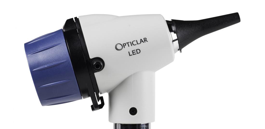 VScope LED Otoscope Set - E Lithium rechargeable system