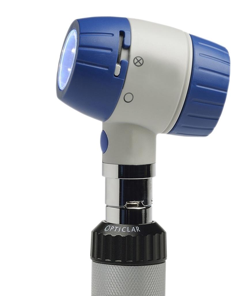 D-Scope Set - Dermatoscope and Otoscope E Lithium Desk Oplaadbaar