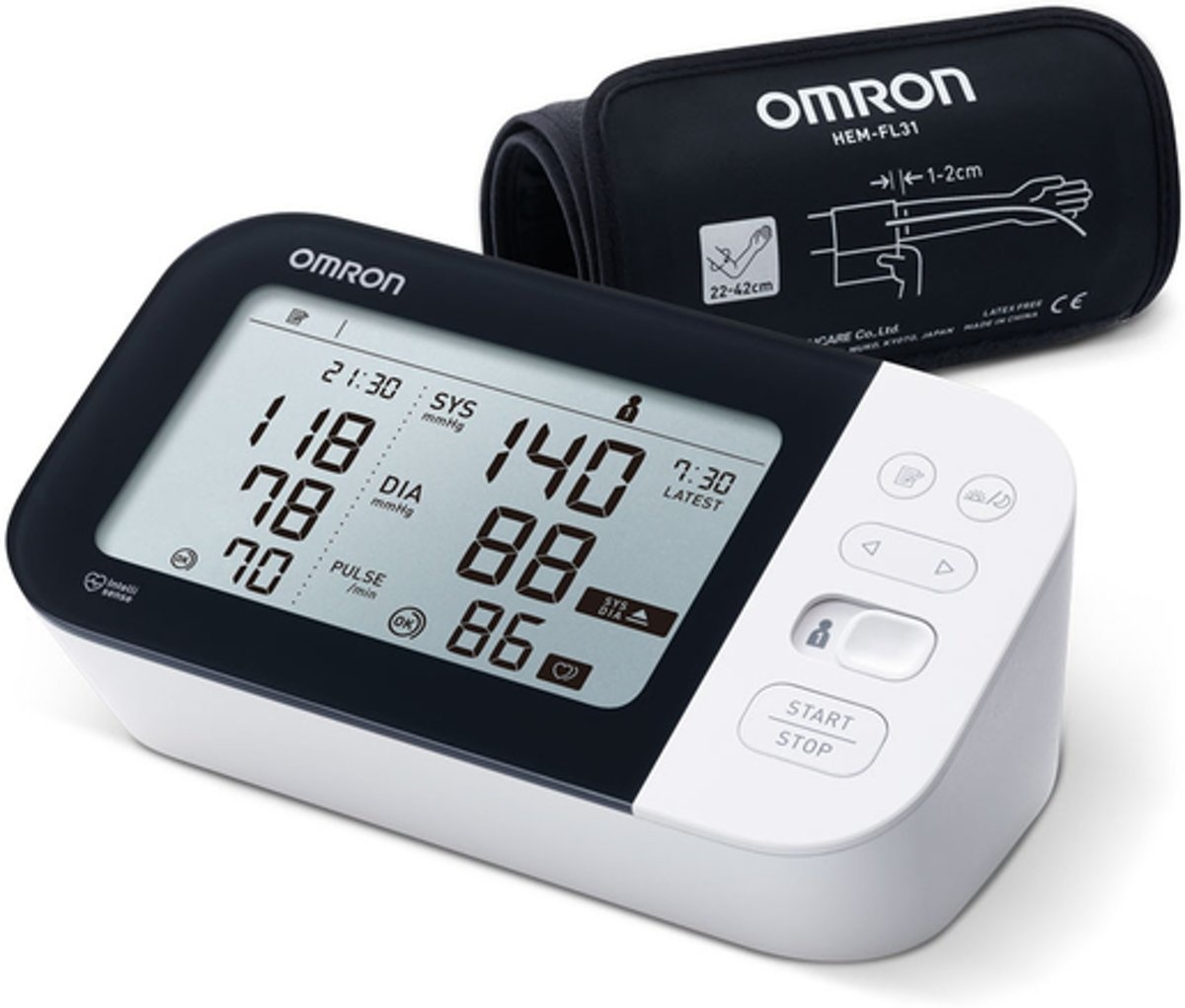 Omron M7 Intelli IT Blood Pressure Monitor with AFIB