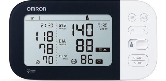 Omron M7 Intelli IT Bloeddrukmeter detecteert AFIB (atriumfibrilleren)