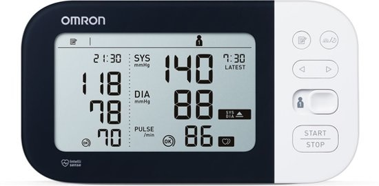 Omron M7 Intelli IT Blood Pressure Monitor detects AFIB (atrial fibrillation)