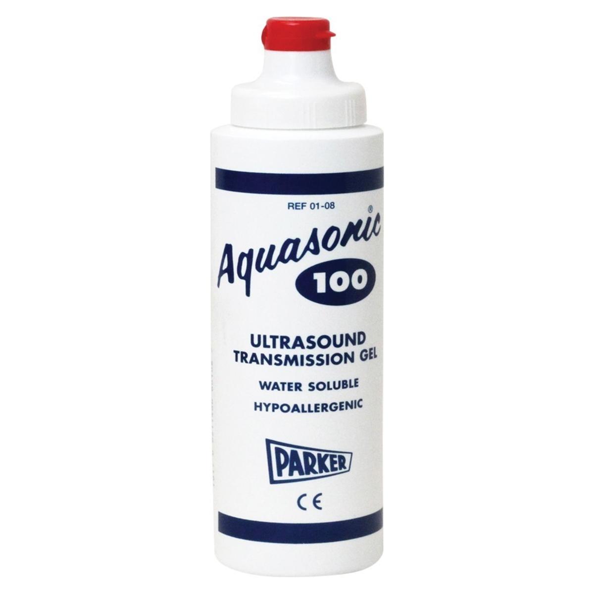 Aquasonic ultrasound gel 250 ml  Let op: dit is geen desinfectans