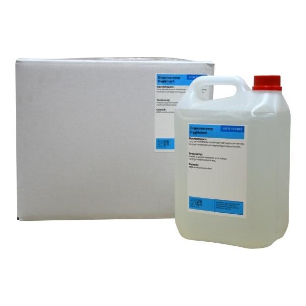 Desinfecterende dispenserzeep Hygiënisch 5 liter