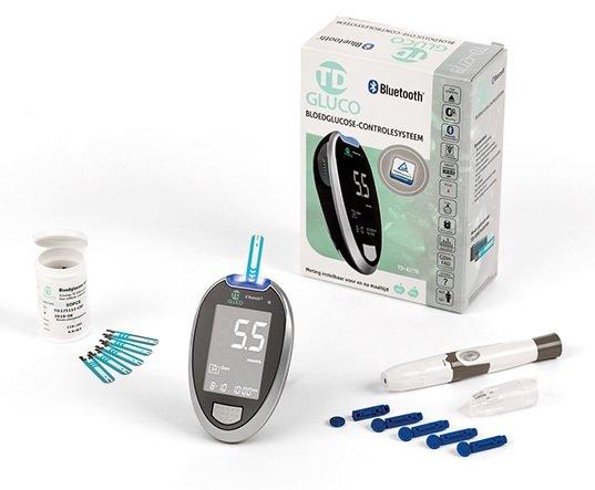 HT One TD-Gluco Bluetooth Glucosemeter  / bloedsuikermeter Startpakket