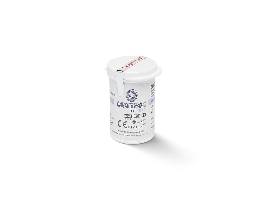 Diatesse XPER  Glucose test strips - 50 pieces