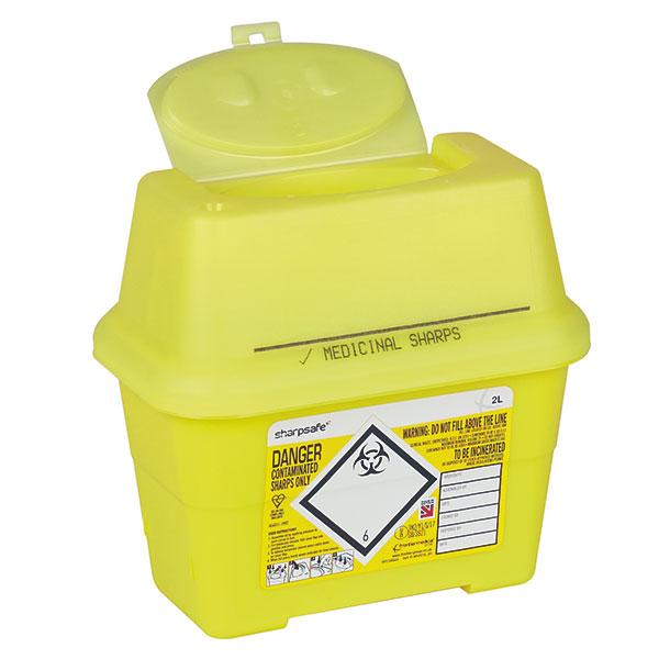 Sharpsafe Abfallcontainer - 2 Liter