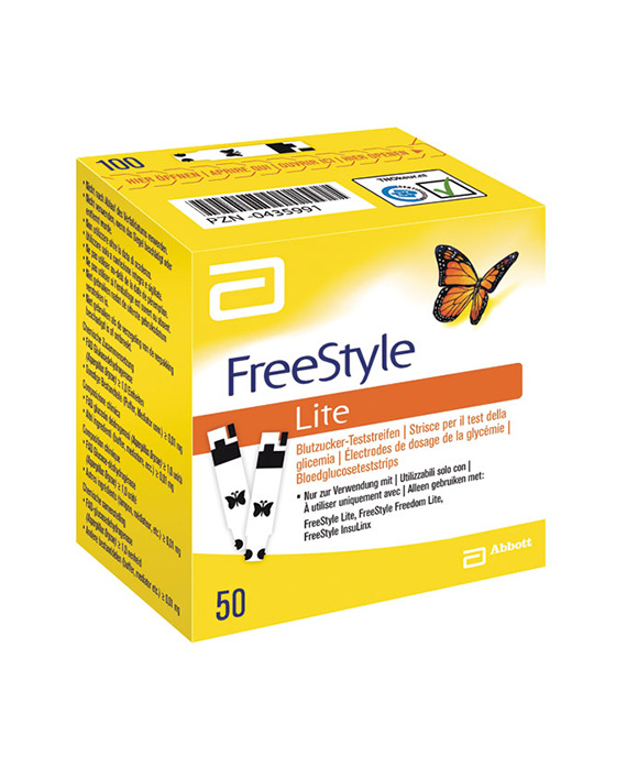 FreeStyle Freedom ™ Lite - 50 Test Strips