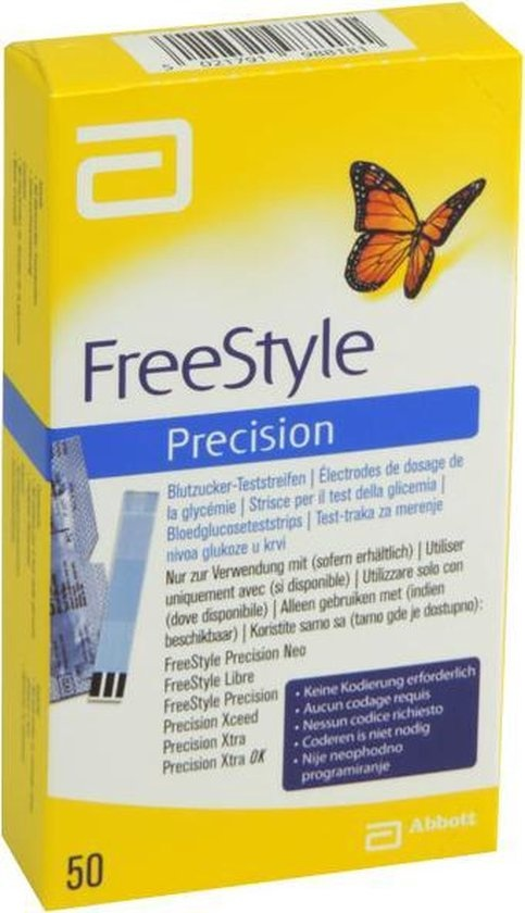 Abbott Freestyle Precision - 50 Test Strips