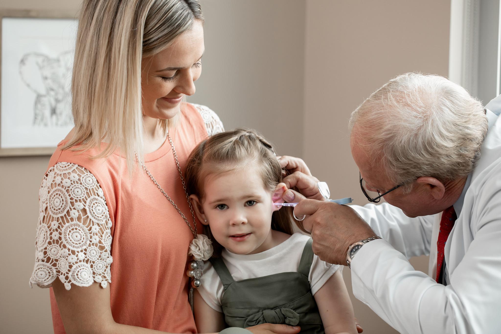 Bionix Verlichte oorcurette