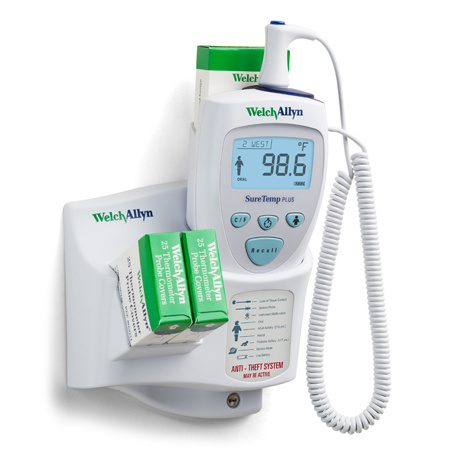 Welch Allyn Suretemp Plus 692 Thermometer oral - Wandmodell