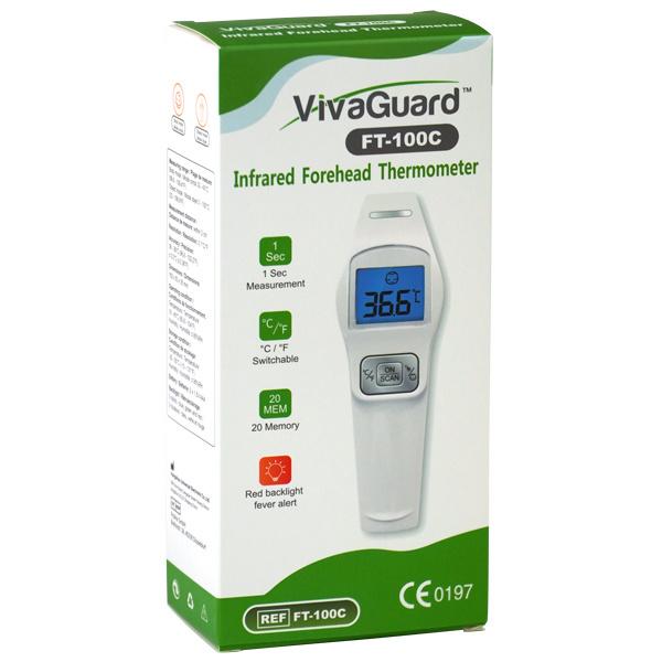 Vivaguard Stirnthermometer