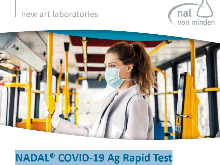 NADAL® COVID-19 Antigen Rapid Test, 20 Corona tests, nose ...