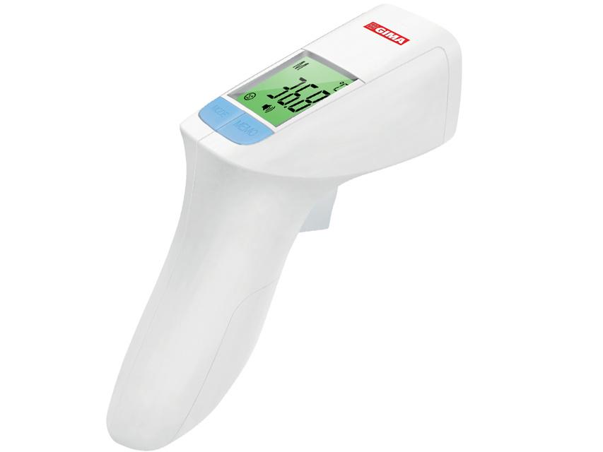 Gimatemp zero contact infrafred thermometer