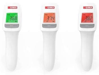 Gimatemp contactloze voorhoofdthermometer